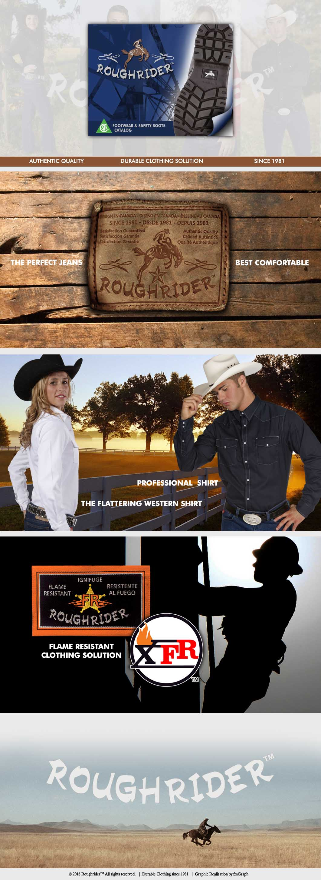 Workwear Roughrider Products